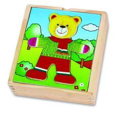 Игра Одень мишку (мальчик ) в пленке 56401 1