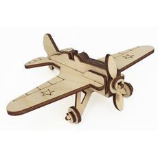 """Игрушка-конструктор """"Военный самолет И-16"""" СДМ-11К 1"""