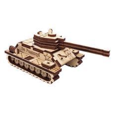 """Игрушка-конструктор """"Танк"""" (дерево) 35 дет. СДМ-35к 1"""