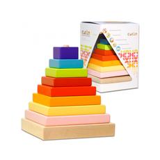 Пирамидка (8 дет. ) 12329/LD-5 1