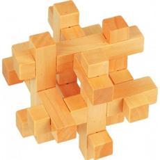 Головоломка Mini Puzzle I, II в ассортименте (дерво) Д128/ Д127 1