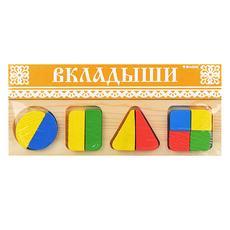 """Доска-вкладыш """"Геометрия большая"""" 322 1"""
