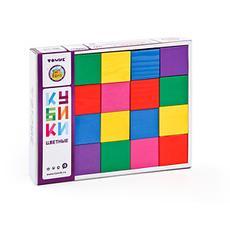 """Кубики 20 эл. """"Цветные"""" 2323 1"""