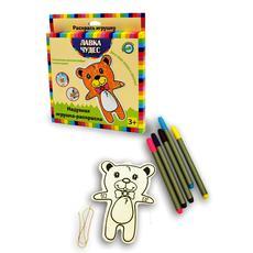 """Набор для раскр. надувной игрушки """"Медвежонок"""" (текстиль) 24535 1"""