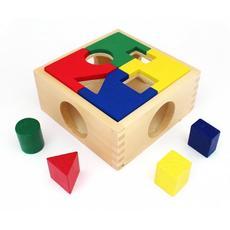 Занимательная коробка (дерево) Д029 1