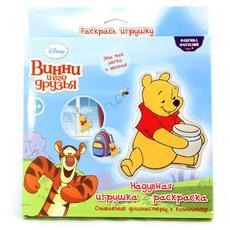 """Набор для раскрашивания надувной игрушки """"Винни Пух"""" (Дисней) текстиль 33070 1"""