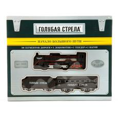 Железная дорога Паровоз, тендер, вагон, 200 см. 3003 1