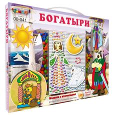 """Мозаика серии """"В ГОСТЯХ У СКАЗКИ"""" Богатыри 00-041 1"""