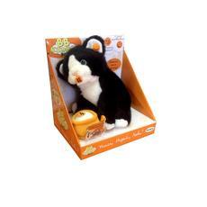 Кошка черно-белая интерактивная 20 см. 91220R-BWC 1