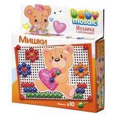 """Мозаика с апплик. """"Мишки"""" 00-012 1"""