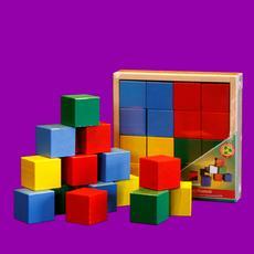 Кубики цветные АЦ2200 1
