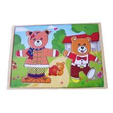 """Игра """"Два медведя"""" (дерево) А-146 1"""