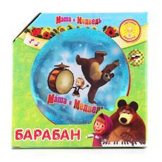 """Барабан """"Маша и Медведь"""" со светом 0010 B672011-R2 1"""