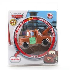 "Игрушка ""Disney. Мэтр"" с кр. колесами, свет+звук, 4R-WLS 1"