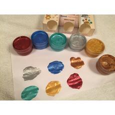 """Пальчиковые краски """"Блестящие. 3+"""" 6 цв. 360 мл. 16-КП-6Б-60 (Колер Продукт) 2"""