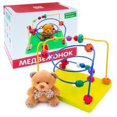 "Лабиринт с игрушкой ""Мишка"" Д1025а 1"