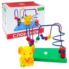 """Лабиринт с игрушкой """"Слоник"""" Д1023а 1"""