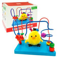 """Лабиринт с игрушкой """"Цыпленок"""" Д1028а 1"""