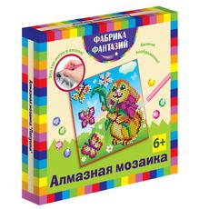 """Алмазная мозаика """"Лапушка"""", размер 15х15 см 48552 1"""