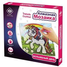 """Алмазная мозаика """"Волшебный день"""", размер 20х20 см 59713 1"""