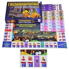 """Игра для развития памяти и внимания """"Госмонолия. Моя Россия"""" с карточками. Р1821 1"""