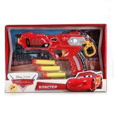 "Бластер ""Тачки"" с мягкими патронами B1228220-R 1"