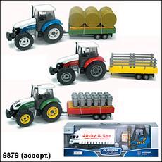 """Трактор """"Farm set"""" TP800 ассорти 1:32 9879/60082 1"""