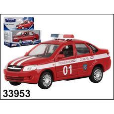 Лада GRANTA Пожарная охрана 1:36 33953W-RUS 1