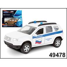 "RENAULT DUSTER ""Полиция"" 1:38 49478 1"