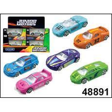 1:60 CRYSTAL HIGH SPEED CAR 48891 в ассортименте (диспенсер) 1
