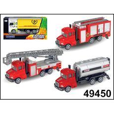 """Машина """"FIRE TRUCK"""" пожарная, ассортимент 1:60 49450 1"""