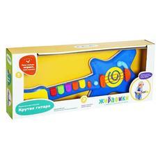 """Музыкальная игрушка """"Крутая гитара"""" со светом и звуками 939544 1"""