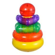 "Развивающая игрушка ""Пирамидка"" со светом и звуками 939545 1"