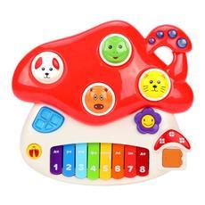 """Музыкальная игрушка """"Грибок"""" со светом 939586 1"""