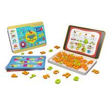 """Игровой набор """"Буквы и Цифры"""" в метал. коробке POL-007 2"""