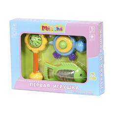 """Набор 3 в 1 """"Первая игрушка"""" (солнышко, рыбка, черепашка) TY9046 1"""