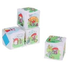 Кубики Теремок-грибок Д-231-14 1