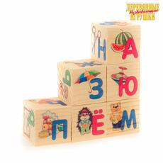 """Кубики 6 эл. """"Азбука"""" Д489а 1"""