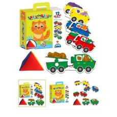"""Игра с мягкой пирамидкой для самых маленьких """"Звероцепы"""" VT2906-05 1"""