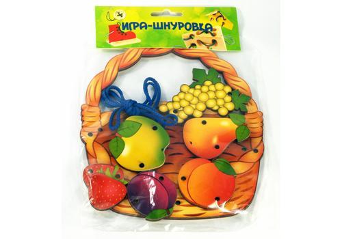 """Шнуровка """"Корзина с фруктами"""" 7929 1"""