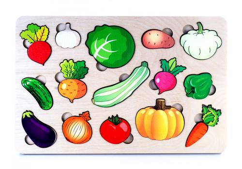 """Развивающая доска """"Овощи"""" (большая) 7987 1"""