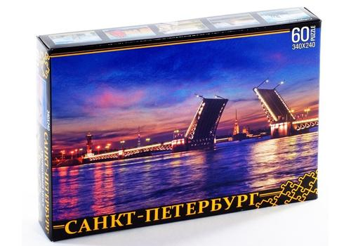 ПАЗЛЫ 60 элементов. Санкт-Петербург. Дворцовый мост 7945 1