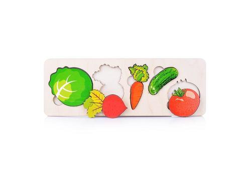 """Пазл-рамка для малышей """"Овощи"""" 7925 1"""