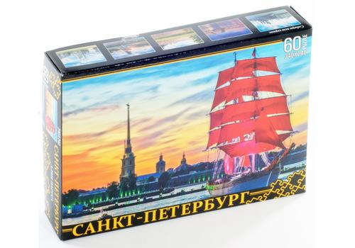 ПАЗЛЫ 60 элементов. Санкт-Петербург. Алые паруса 7943 1