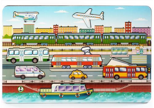 """Развивающая доска """"Городской транспорт"""" 8013 1"""