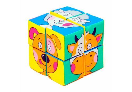 "Мякиши ""Собери картинку. Зверята"" 8 кубиков 336 1"