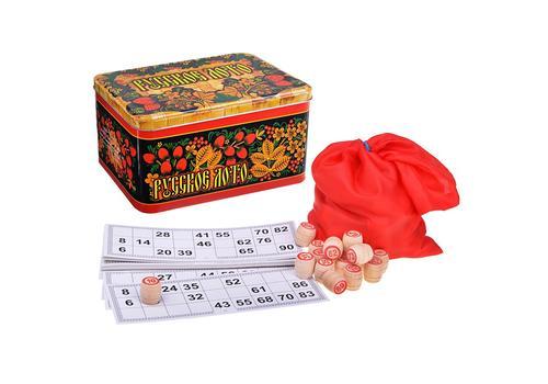 Русское лото в жестяной коробке (Нескучные игры) 2