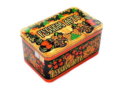 Русское лото в жестяной коробке (Нескучные игры) 1