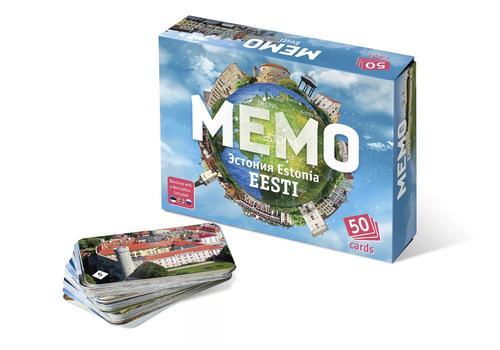 """Мемо """"Эстония"""" (3 книги: русский, эстонский, английский) 7896 1"""