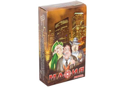 """Игра карточная """"Мафия ЛЮКС"""" большая коробка 7090 1"""